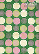 "Lolli - Pink/Lime/Cream/Gold on Grass Green, 22"" x 30"" additional picture 1"
