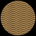 "Corrugated Illusion-Kraft Brown 29"" x 20"""