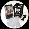 "5"" x 8"" Paper Fusion Lamp Kit - Black"