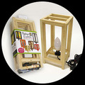 "5"" x 11"" Paper Fusion Lamp Kit - Natural"
