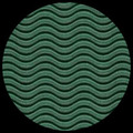 """Corrugated Illusion Forest Green 26"""" x 20"""""""