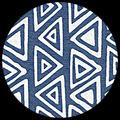 """Frieze - White/Copenhagen Blue, 22"""" x 30"""", 22"""" x 30"""""""
