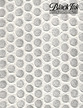 """Embossed Honeycomb Circles - White Mulberry, 21"""" x 31"""" additional picture 1"""