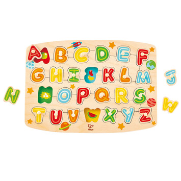 Alphabet Peg Puzzle - OUT OF STOCK picture
