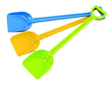 Sand Shovel - blue picture
