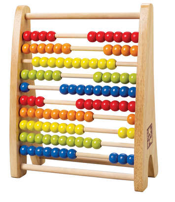 Rainbow Bead Abacus picture