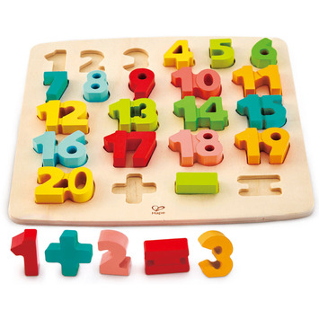 Chunky Number Math Puzzle picture