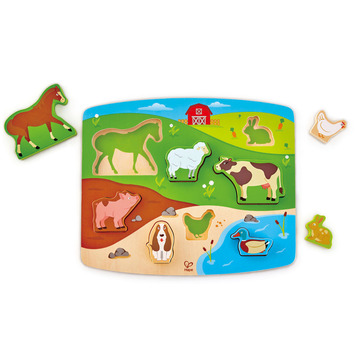Farm Animal Puzzle & Play picture
