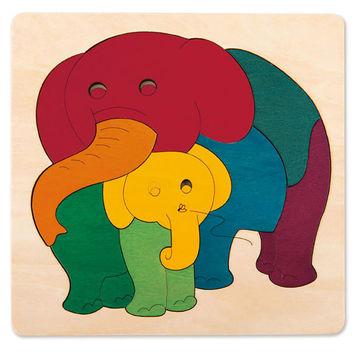 Rainbow Elephant & Baby picture