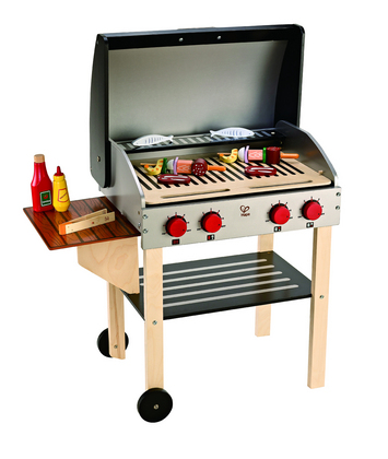 Hape Gourmet Grill with Food picture