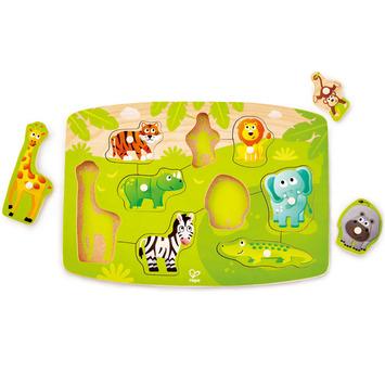 Jungle Peg Puzzle picture