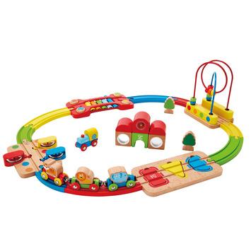 Rainbow Puzzle Railway picture