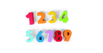 Numbers and Colors picture