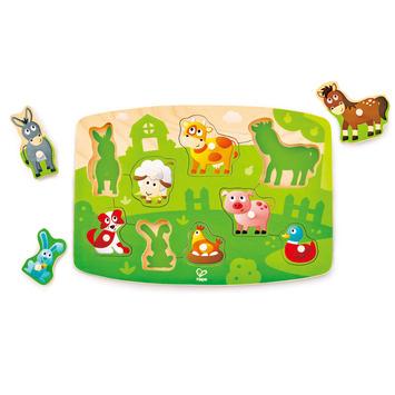 Farmyard Peg Puzzle picture