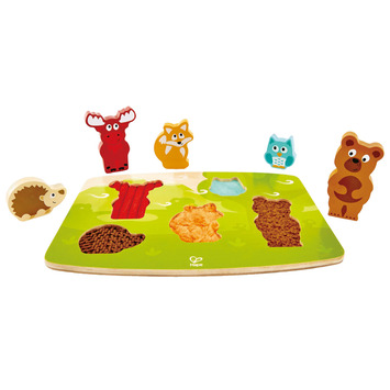 Forest Animal Tactile Puzzle picture