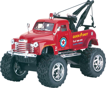 Die Cast Big Wheel Tow Truck picture