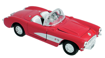 Die Cast Corvette 1957 picture