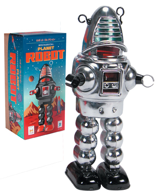 Chrome Planet Robot picture