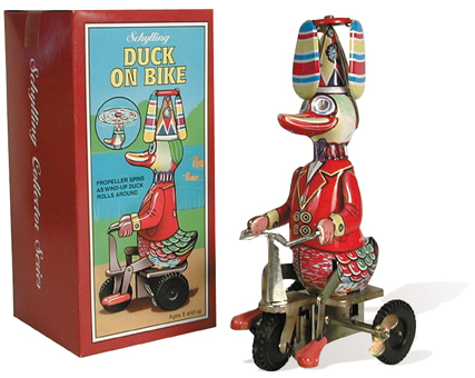 Duck On Bike Wind-Up picture