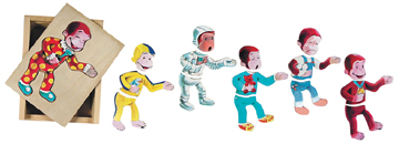 Curious George Mood Puzzle picture