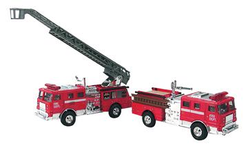 Diecast Fire Engine Asst picture