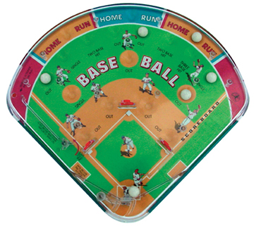 Baseball Pin Ball Game picture
