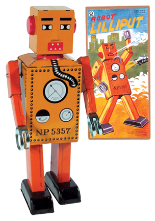 Robot Lilliput Large picture