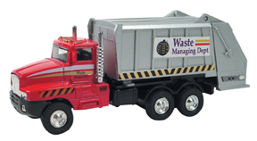 Die Cast Sanitation Truck picture