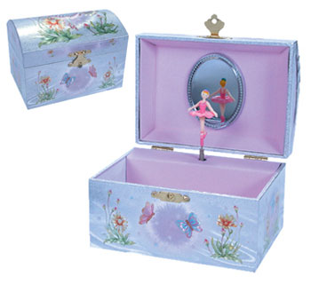 Iridescent Fairy Jewelry Box picture
