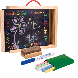 Chalk Board Brief Case picture