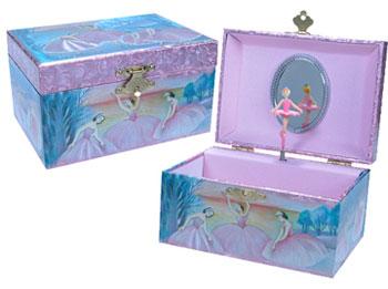 Iridescent Ballerina Jewelry Box picture