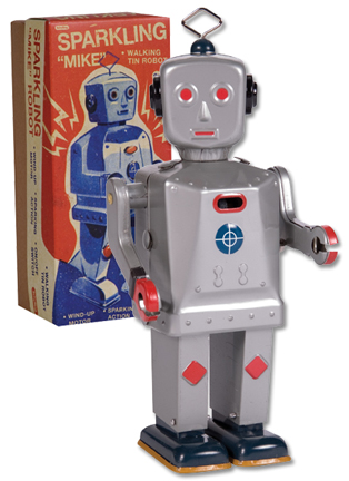 Sparkling Mike Robot picture