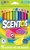 Scented Fine Line Markers - 10pk