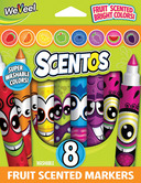 Fruit Scented Markers - 8pk