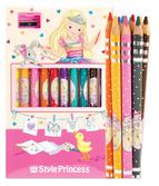My Style Princess Colored Pencil Set