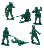 Green Army Men - 40Pcs. Bag