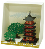 Five Storied Pagoda papernano