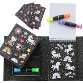 Neon Colouring Set - Unicorn & Friends