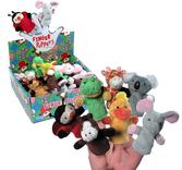 Plush Finger Puppets-Asst