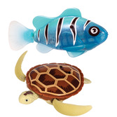 Robo Alive Fish And Turtle Assortment