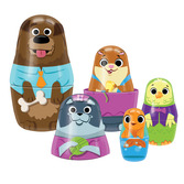 Little Classics Family Pets Tin Nesting Doll
