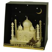 Taj Mahal papernano