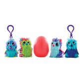 Hatchimals FabulaForest mini plush clip-on