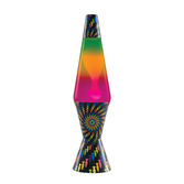 "17"" LAVA LAMP COLORMAX PSYCHEDELIC"