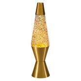 """14.5"""" LAVA LAMP RAINBOW GLITTER"""