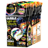 illooms Balloon 5pk Marble