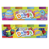 Scented 5oz Dough Tubs - 4pk