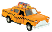 Die-Cast Taxi Pull-Back