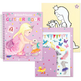 My Style Princess Glitter Coloring Book