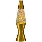 """11.5"""" LAVA LAMP RAINBOW GLITTER"""
